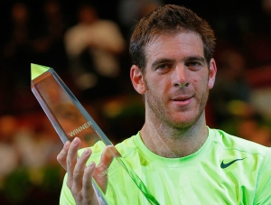 Delpo le ganó a Zemlja 75 63. Getty images